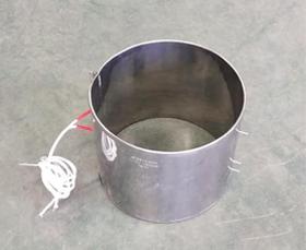 不锈钢钢皮加热圈设备发出